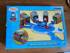 Tomy Thomas & Friends TrackMaster Engine Sheds and Turntable