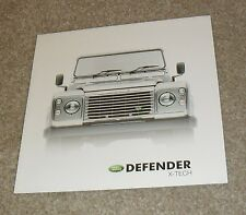 Land Rover Defender X-Tech Limited Edition Brochure 2003