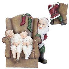Clayre&Eef Weihnachtsmann Nikolaus *Kinder *Sessel*Weihnachten*Weihnachtsdeko*
