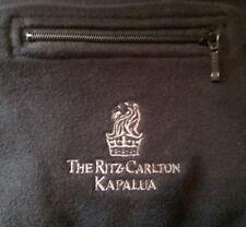 Ritz Carlton Kapalua Maui women's light dress coat jacket Black Medium brand new