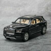 1:24 Rolls-Royce Phantom Metal Diecast Model Car Toy Sound&Light With Box