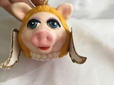 Vintage 1979 The Muppet Show Ornament: Miss Piggy Angel Jim Henson Christmas