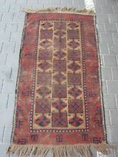 Antique Hand Made Rug 152x88-cm / 59.8x34.6-inches