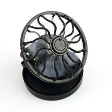 New energy saving Clip-on Solar Cell Fan Sun Power energy Panel Cooling Black HS