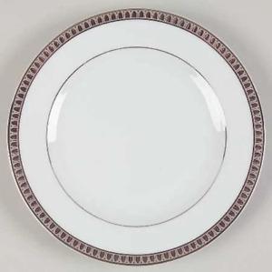 "Christofle Malmaison Platinum 8.5"" Dessert Plate 7212"