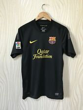 BARCELONA 2011 2012 AWAY FOOTBALL SOCCER SHIRT JERSEY NIKE BLACK 419880-010