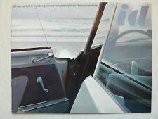 Prospekt / brochure Citroen ID 19 mit 70 PS, 11.1964, 8 Seiten