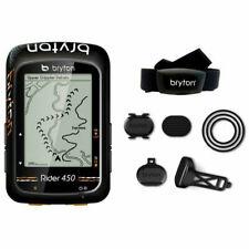 BRYTON Rider 450T ciclocomputer con fascia cardio e sensori velocità e cadenza