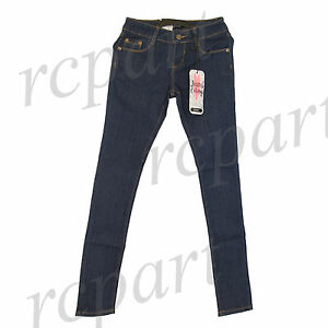 New Jeans Colony Girls Junior Blue Long skinny slim Jeans Casual Size 1 to 13