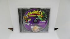 Rampage 2: Universal Tour (Sony PlayStation 1, 1998) PS1