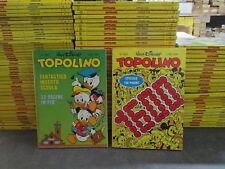 TOPOLINO 1501/1600 - SEQUENZA COMPLETA CON TUTTE LE COPERTINE ADESIVE