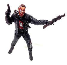 "McFarlane Movie Maniacs T2 TERMINATOR T-800 6"" movie film toy figure"