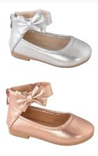 New toddler basic round toe  ballet flats slip on shoes   Size 3 to 9   4 colors