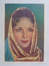 INDIAN VINTAGE BOLLYWOOD MOVIE ACTRESS OLD PRINT / SIZE - 7X9 INCH N0.4