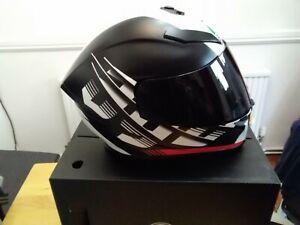 agv helmet k5 darkstorm ..Matt black /red ..XL