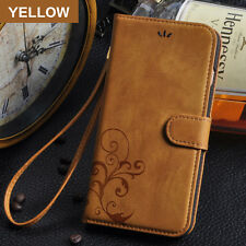 Retro Leather Skin Wallet Cover Case For Apple iPhone 5 / 6 / 7 / 6Plus Phone