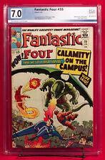 FANTASTIC FOUR #35 PGX 7.0 FN/VF Fine / Very Fine - First Dragon Man!!!