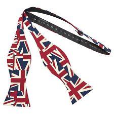 Union Jack Self-Tie Bow Tie, Great Britain Bow Tie
