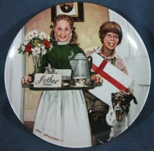 Mothers Day Collector Plate Don Spaulding Americana Holidays 1983 Knowles Coa
