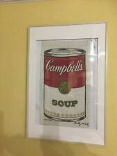 Andy Warhol  Vintage Campbells Soup Laundry, Bag Pop Art, original handsigniert