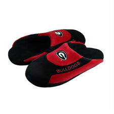 NWT - Georgia Bulldogs Low Profile Scuff Slippers by Comfy Feet- Mens Large