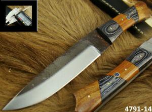 ALISTAR CUSTOM HANDMADE HIGH CARBON FILE STEEL HUNTING BOWIE KNIFE (4791-14