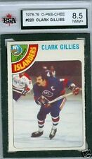 Clark Gillies 1978-79 OPC 78 NHL Card #220 KSA 8.5