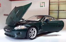 JAGUAR XK Coupé Verde Welly 1:24 Escala De Metal Detallado INTERNO COCHE modelo