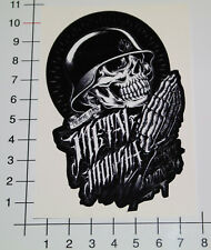 METAL MULISHA TOTENKOPF Aufkleber Sticker V8 Bobber Motorcross Outlaws VR6 Mi326