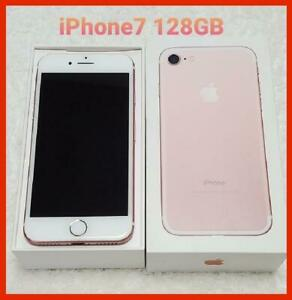 Iphone7 128Gb Sim-Free Pink Gold Body Only