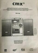 CMX MicroanlageMSC7280-RIOKompaktanlage Micro HIFI System Stereoanlage B-Ware