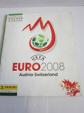 PANINI CALCIO ALBUM FIGURINE ALBUM EURO em 2008 Svizzera completo