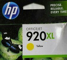 Genuine HP Officejet  920XL Yellow Ink Cartridge