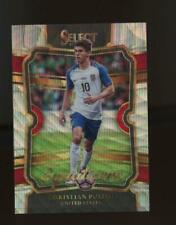 2017 Panini Select Silver Wave Prizm Equalizers Christian Pulisic Rc Rookie