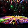 10-300pcs Glow Sticks Bracelets Necklaces Neon Colours Party Favors Rave Disco