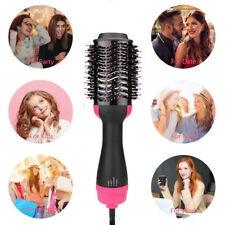 3 in 1 Hair Blow Dryer & Volumizer Straightener Curler Ionic Comb Hot Air Brush