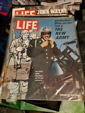 1971 Life Magazine The New Army