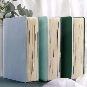 """""""Silent Moment"""" 1pc Big Faux Leather Business Notebook Drawing Journal Diary"""