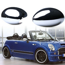 Door Mirror Cover Chrome LHD Left & Right For BMW Mini Cooper S One R50 R52 R53