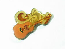 Vintage Country & Western Guitar Pin  Enamel (sm)