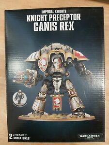 WARHAMMER 40K ~ IMPERIAL KNIGHTS KNIGHT PRECEPTOR CANIS REX ~ NEW - UNOPENED