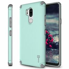 Powder Blue Magnetic Hard Protective Slim Phone Cover Case for LG G7 ThinQ