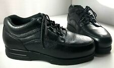 Drew Traveler Shoes Mens Black Leather Lace Up Oxford Size 10.5 6E