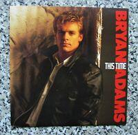 "BRYAN ADAMS This Time 1983 UK  7"" VINYL SINGLE IN PICTURE SLEEVE"