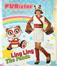Furistas Ling Ling Panda Child Costume China Small 4-6