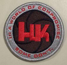 Heckler Koch HK LOGO Pistol Polygonal Patch World of Compromise P7 P30 VP9 SL8