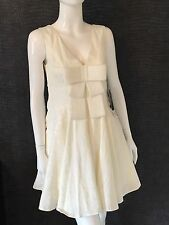 New With Tags - Forever Unique Lauren Ivory Skater Bow dress - Uk 10 Or 12