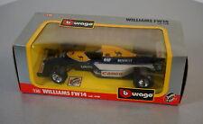 Burago 1/24 Williams FW14 - 6108 - Die-Cast Racing Car Scale Modell Auto NEU OVP