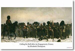 Roll Call - Elizabeth Thompson 1874 - NEW Fine Art POSTER (fa170)