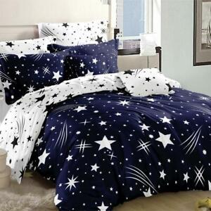 All Size Bed Ultra Soft Quilt Duvet Doona Cover Set Bedding Shooting Stars